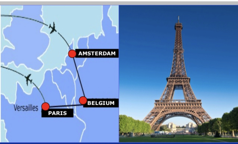 Amsterdam, Brussels, and Paris!!